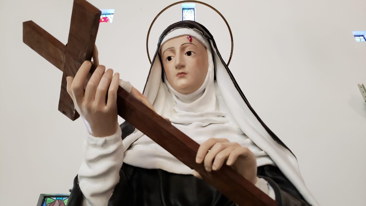 Comunidade do Hauer promove festa em honra à Santa Rita de Cássia
