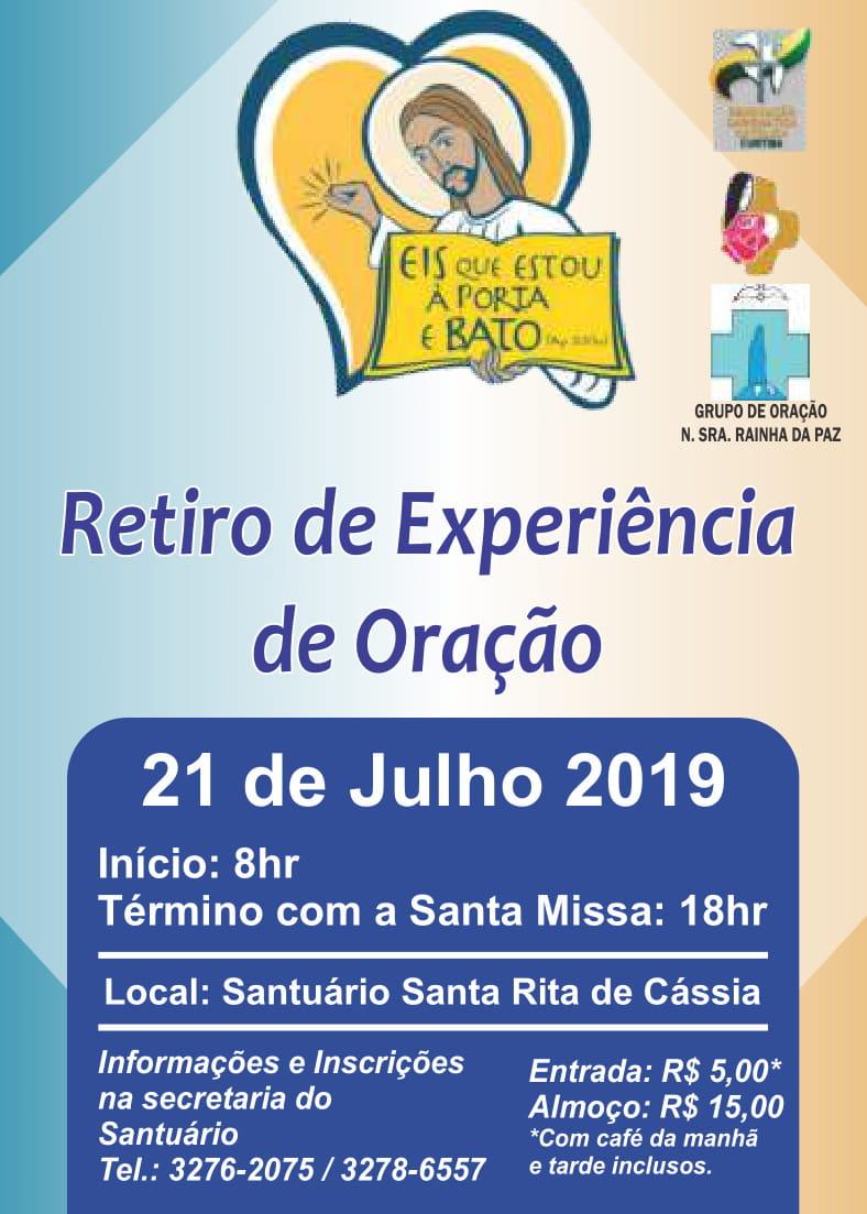 Retiro Renovação Carismática Católica 2019
