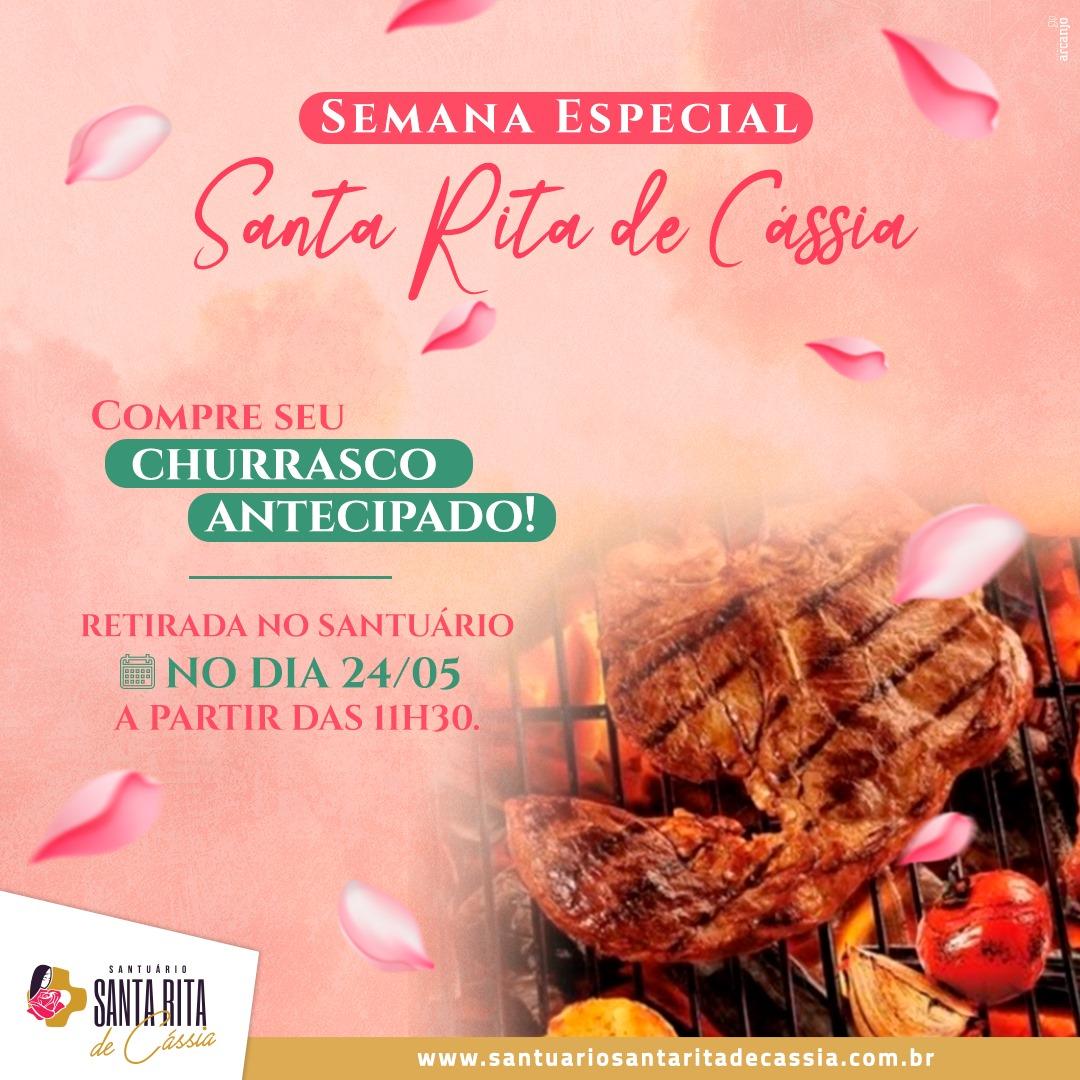 Churrasco da festa de Santa Rita de Cássia
