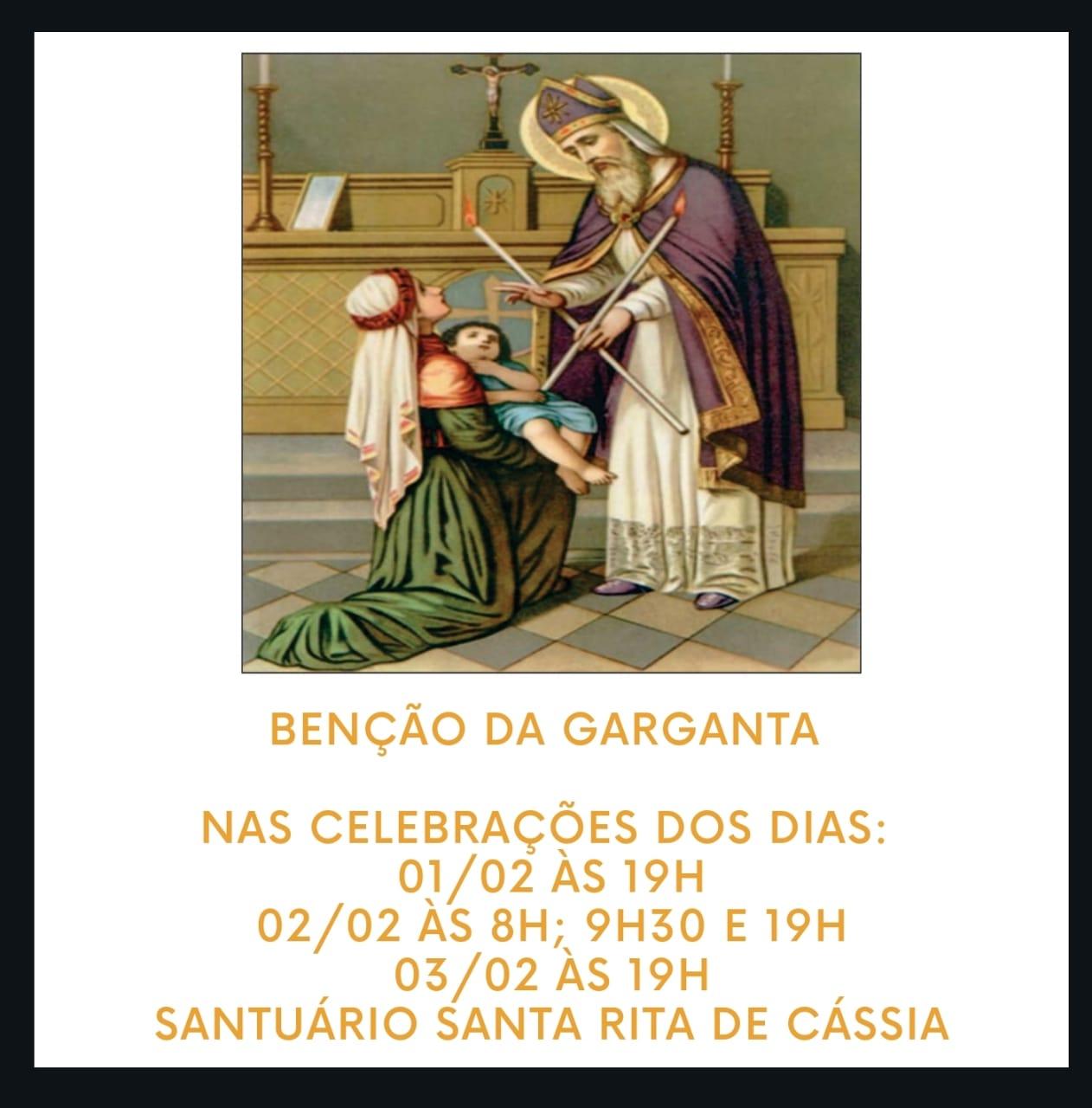 Benção da Garganta